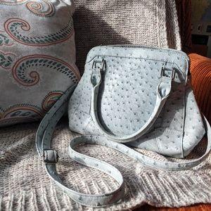 Imitation Ostrich skin purse